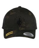 Multicam Black Camo Hat