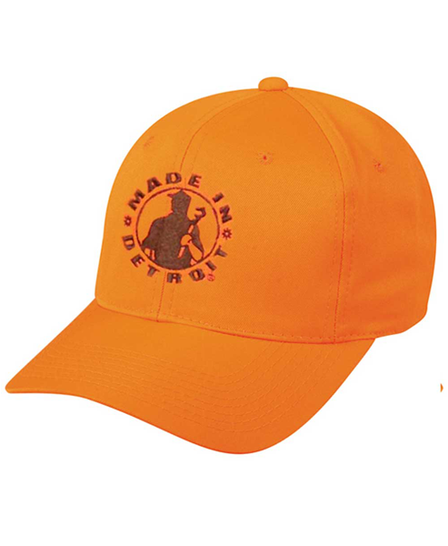 MID Snap Back - Blaze Orange w/ Green