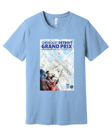 DGP 2019 Poster Shirts - Light Blue or Royal