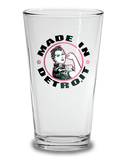 Rosie the Riveter Pint - Pink