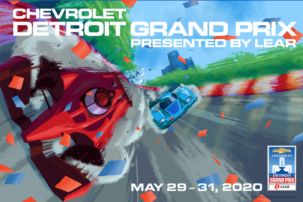 2020 Grand Prix Poster - Now In Stock