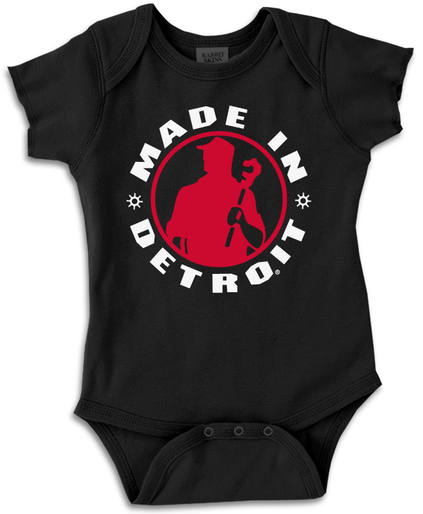 MID - Onesie - Black with Red