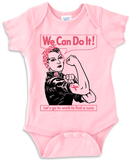 Rosie Cancer - Onesie - Pink w/ Black & Pink