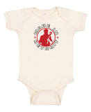 MID Outline Infant Onesie
