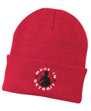 MID Hockey Knit Cuff Beanie