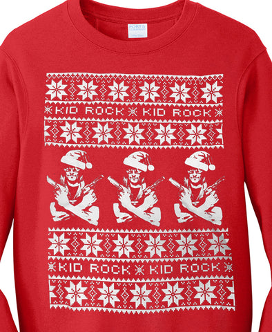 Kid Rock Holiday Sweater