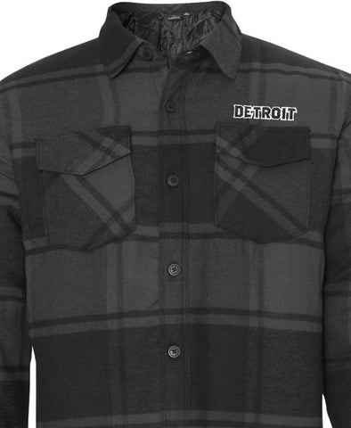 Black Flannel Jacket