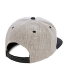 MID Flat Visor Classic Two Tone Snapback Black, Navy or Red