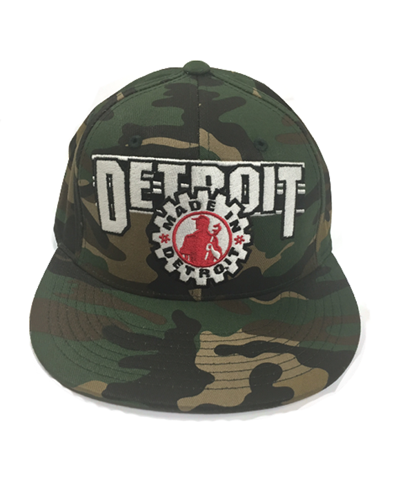 MID Circle Pacific BBH - Camo Detroit on Back