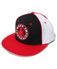 MID - Pinwheel Fitted Hat - Detroit on Back