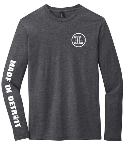 Shifter Long Sleeve - Heathered Charcoal