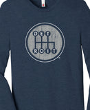 Shifter Long Sleeve - Heather Navy