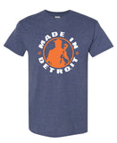 MID Tee - Heather Navy