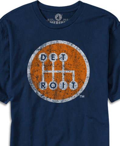 detroit shifter shirt made in detroit muscle car shirt