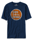 Shifter - Navy with Orange