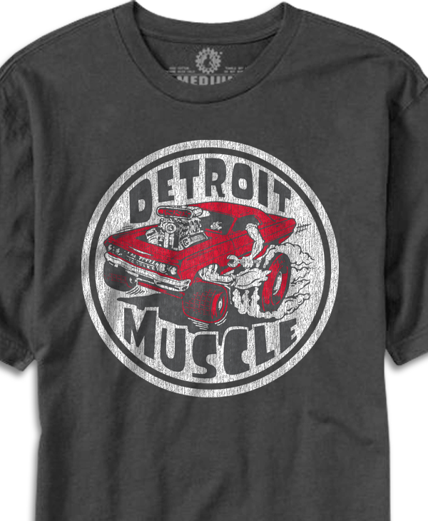 Detroit Muscle Car T-shirt