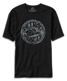 Vintage Detroit Muscle Scat Super Bee Distressed Men's Black T-shirt