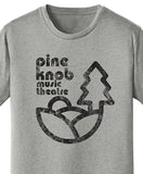 Pine Knob Music Theatre Print on Heather Grey T-shirt