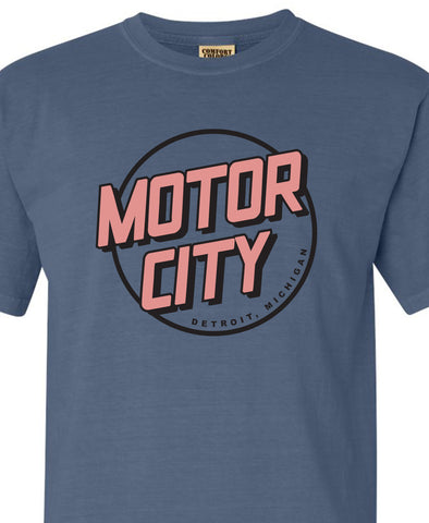 Motor City - Denim - Unisex Tee