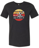 Spirit of Detroit - Black Heather Tri-Blend