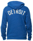 MID Unisex Zip-up Tri-blend Fleece In 4 Colors!
