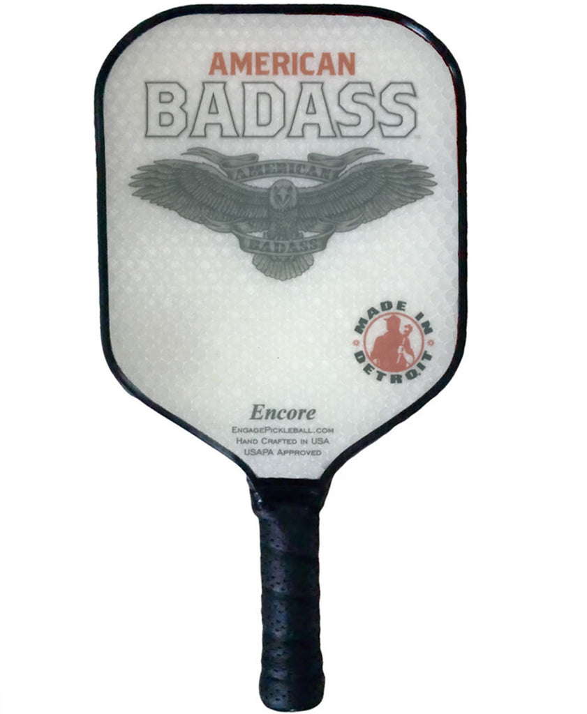 "American Badass Engage ""Encore"" Pickleball Paddle"