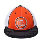 Shifter - Orange Mesh Back Fitted Hat