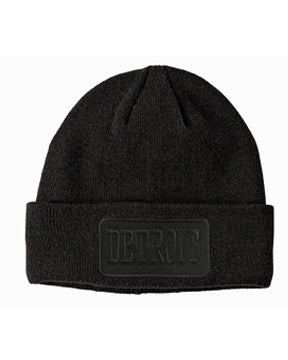 Detroit Patch Beanie