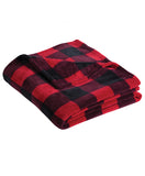 Made In Detroit - Plaid Plush Blanket