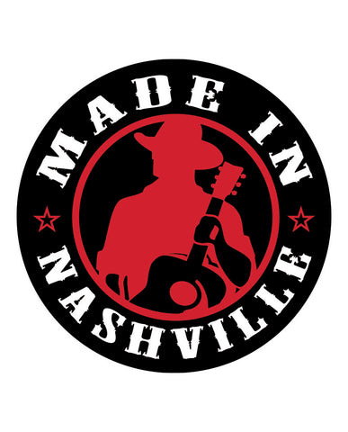 "Nashville 4"" Stickers"