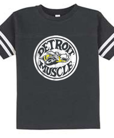 Super Bee - Toddler - Vintage Smoke Football Tee