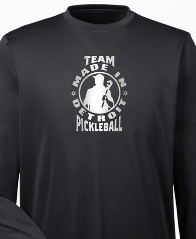 Team MID Pickleball Long Sleeve Moisture Wicking Shirt