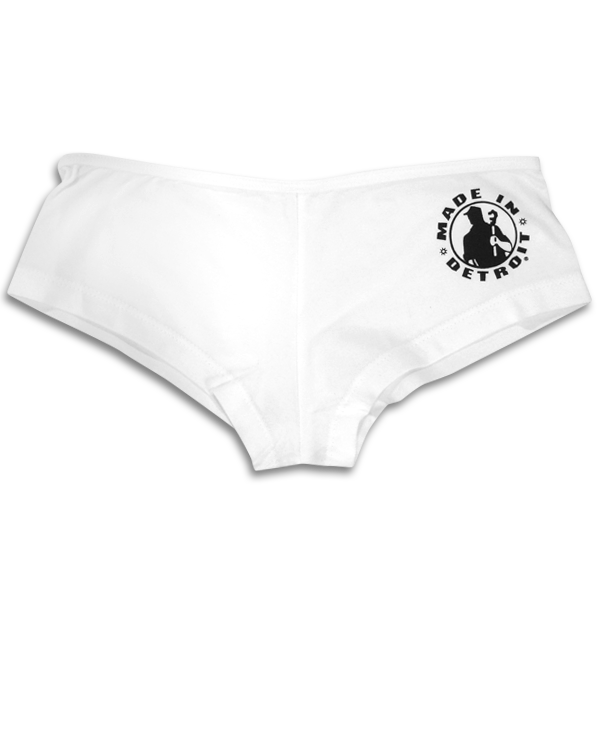 Boy Shorts - Junior Fit - White