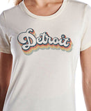 MID Detroit Bubble Cream Tee