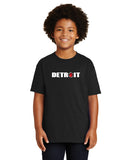 Detroit Block Youth Tee