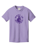Amethyst Beach Washed Youth Tee