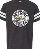 Vintage Detroit Muscle Scat Super Bee Smoke Youth T-shirt