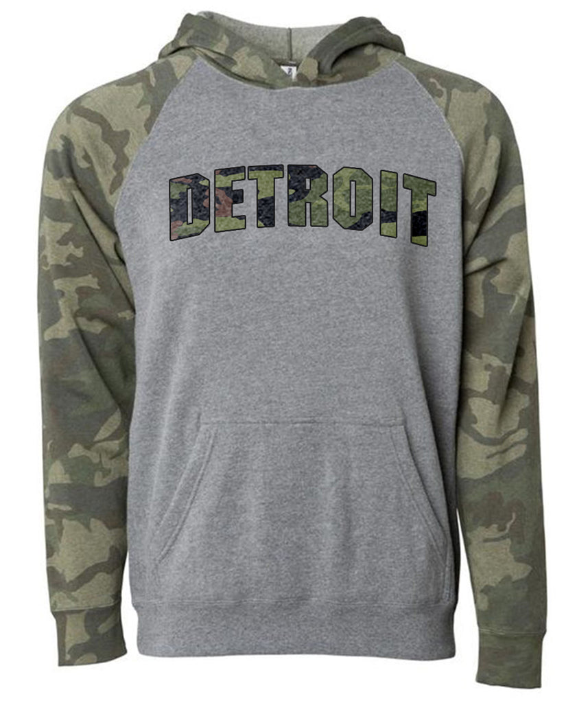 Youth Camo Pullover