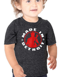 MID - Infant - Tri-Black w/ Red & White
