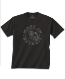 Rosie the Riveter - Youth - Black w/ gray