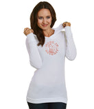 Rosie Junior's Long-Sleeve Thermal Hoodie T-Shirt