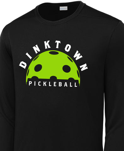 Dinktown Long Sleeve Moisture Wicking Shirt