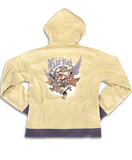 Kid Rock Skull & Roses - Junior Size - Zip-Up Hoodie