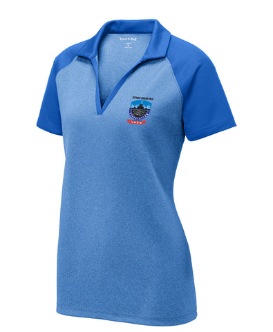Women's Raglan Polo - DGPA