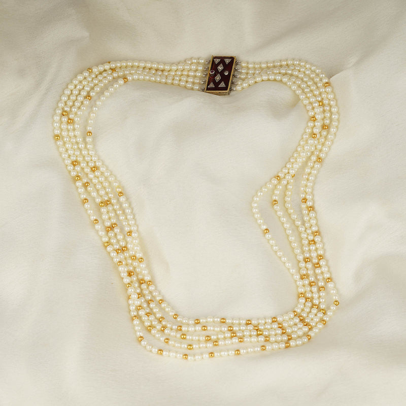 Nargis Pearl Necklace/M138