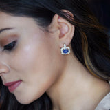 Tanzanite Earrings/M158
