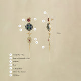 Firdos Earrings/M162