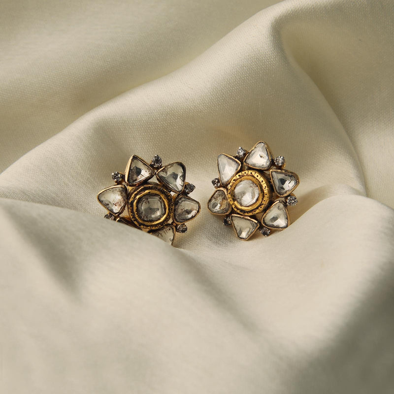 Flower-of-life Studs/m002