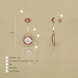 Ann Magnolia Earrings/m111