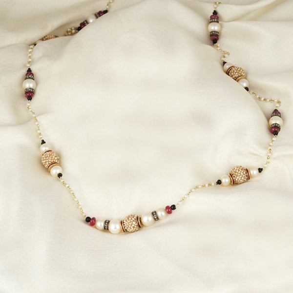 Meera Pearl Necklace/M135